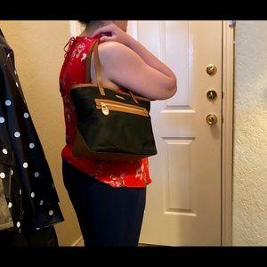 MICHAEL Michael Kors Bags - Michael Michael Kors Kempton Black Nyon Small Tote